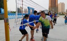 邕武医院2019年职工气排球比赛落幕