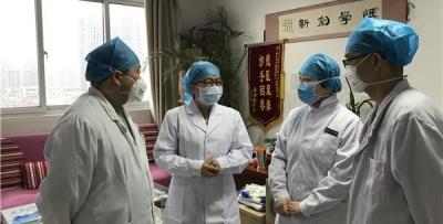 广西医疗队进驻两周 最初收治患者多数好转