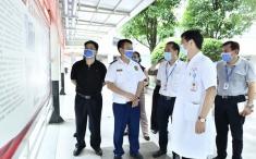 广西消防救援总队及自治区卫生健康委领导到AG贵宾会检查引导消防安全工作