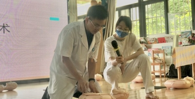 时时彩最稳打法:急诊团队应邀为幼儿教师进行急救知识技能培训