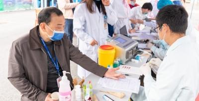 uedbet体育平台:联合南宁中心血站开展无偿献血活动